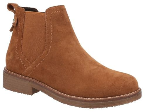 Hush Puppies Maddy Ladies Ankle Boots Tan
